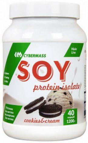 Протеин CyberMass Soy protein 1200 гр