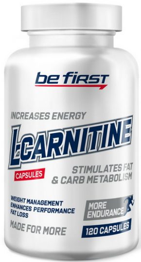 L-Carnitine Be First 700 мг 120 капсул