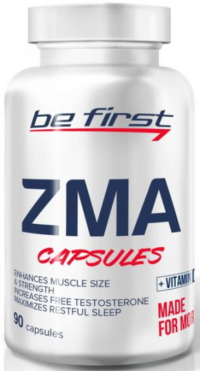 ZMA Be First+Витамин D3 90 капсул