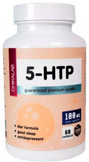 Chikalab 5-HTP 100 мг 60 капсул