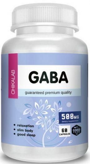 Chikalab GABA 500 мг 60 капсул