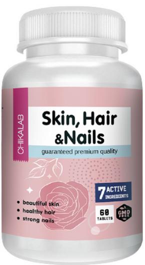 Chikalab Skin, Hair & Nails 60 капсул