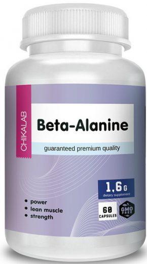 Chikalab Beta-Alanine 60 капсул