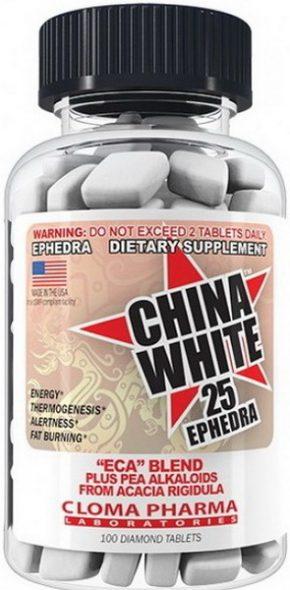 Жиросжигатель CHINA WHITE 100 капсул
