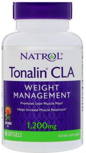 CLA Natrol Tonalin CLA 1200 мг 60 капсул