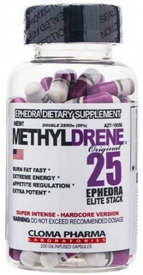 Жиросжигатель Cloma Pharma METHYLDRENE ELITE 25 100 капсул