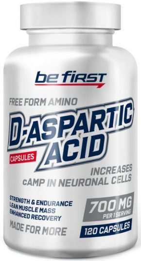 Be First D-Aspartic Acid 100 Capsules