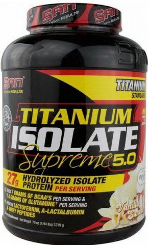 Протеин SAN Titanium Isolate Supreme 2270 гр