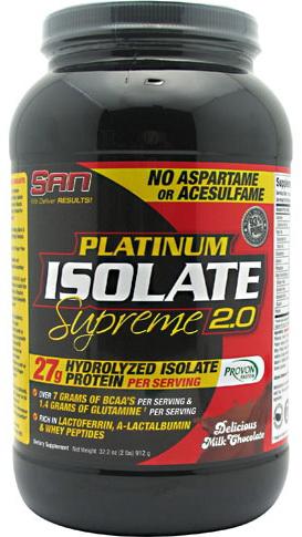 Протеин SAN Titanium Isolate Supreme 907 гр