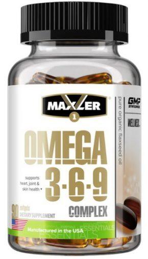 Maxler Omega 3-6-9 Complex 90 капсул