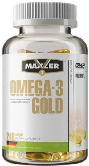 Maxler Omega 3 Gold 240 капсул