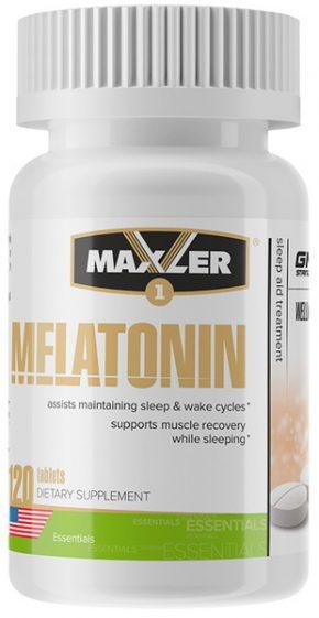 Maxler Melatonin 3 мг 120 таблеток