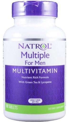 Витамины Natrol Multiple for Men Multivitamin 90 таблеток
