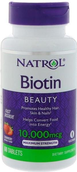 NATROL BIOTIN 10000 мкг 60 таблеток