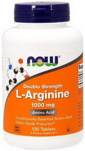 Now Foods L-Arginine 1000 мг 120 капсул