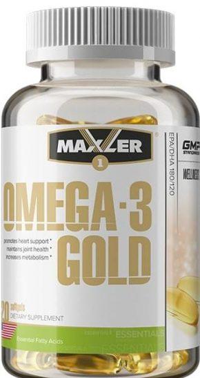Maxler Omega 3 Gold 120 капсул