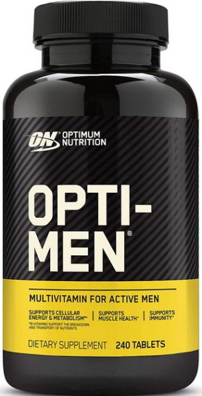 Витамины Optimum Nutrition Opti-Men 240 таблеток