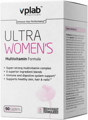 Витамины Vplab Ultra Women 90 капсул