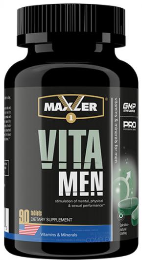 Витамины Maxler VitaMen 90 таблеток