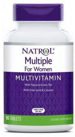 Витамины Natrol Multiple for women Multivitamin 90 таб