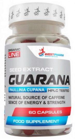 WestPharm Guarana 500 мг 60 капсул