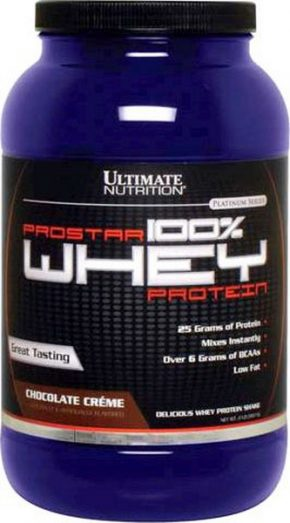 Протеин Ultimate Nutrition Prostar 100% Whey Protein 900 гр