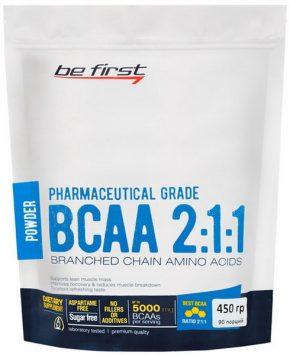 BCAA Be First 2:1:1 powder 450 гр