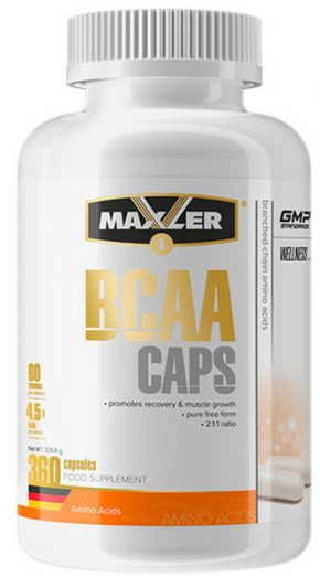 Maxler BCAA CAPS 360 капсул