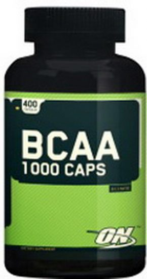 BCAA Optimum Nutrition 1000 400 капсул
