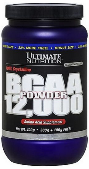 Ultimate Nutrition 12000 BCAA 456 гр
