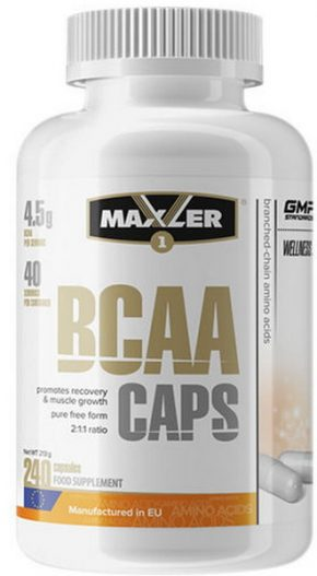 Maxler BCAA CAPS 240 капсул