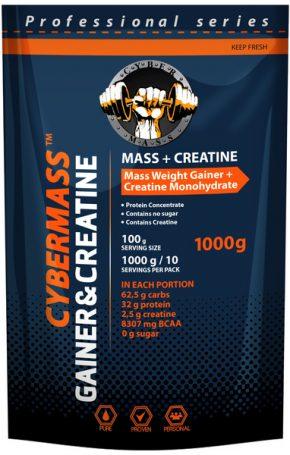 Гейнер Cybermass Gainer+Creatine 1000 гр