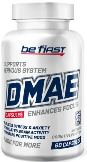 Be First DMAE 250 мг 60 капсул