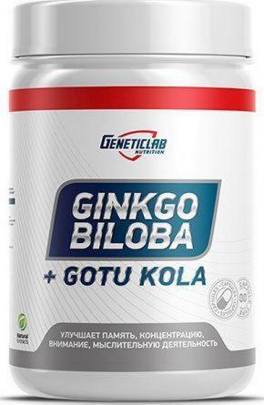 Geneticlab Ginkgo Biloba 120 мг 60 капсул