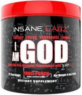Предтрен Insane Labz I am GOD 292 гр