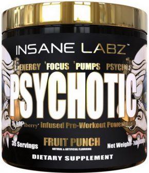 Предтрен Insane labz Psychotic Gold 220 гр