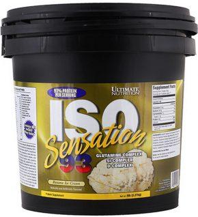 Ultimate Nutrition ISO Sensation 93 2270 гр