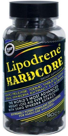 Жиросжигатель Lipodrene Hardcore 90 таблеток