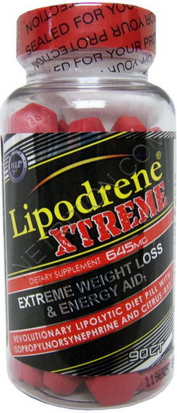 Жиросжигатель Lipodrene Extreme 90 таблеток