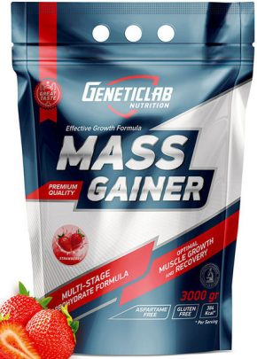 Гейнер Genetic Lab Mass Gainer 3000 гр