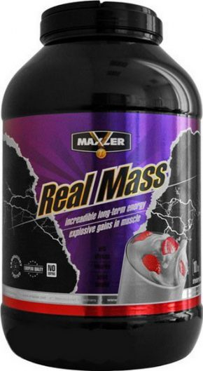 Гейнер Maxler Real Mass 4500 гр