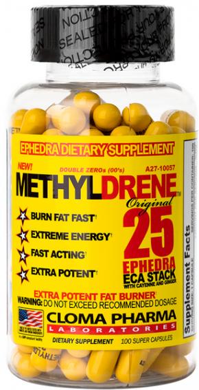 Жиросжигатель Methyldrene 25 100 капсул