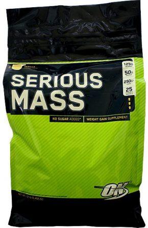Гейнер Optimum Nutrition Serious Mass 5455 гр