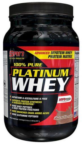 Протеин SAN 100% Pure Platinum Whey 900 гр