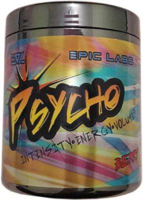 Предтренировочный комплекс Psycho Epic Labs