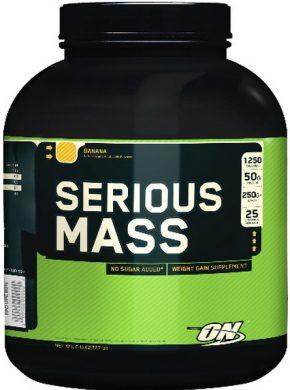 Гейнер Optimum Nutrition Serious Mass 2700 гр