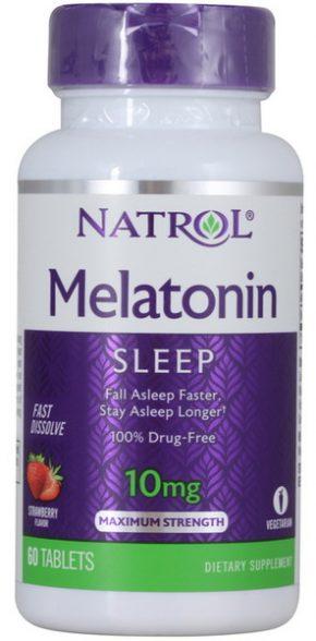 Natrol Melatonin 10 мг 60 таблеток