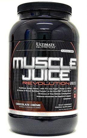 Гейнер Ultimate Nutrition Muscle Juice Revolution 2120 гр