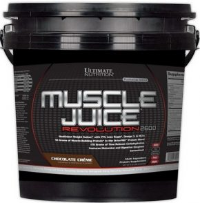 Гейнер Ultimate Nutrition Muscle Juice Revolution 2600 5040 гр