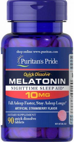 Puritan's Pride Melatonin 10 мг 90 таблеток